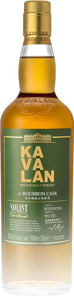 Kavalan Solist ex-Bourbon Single Cask Strength