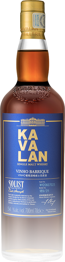 Kavalan Solist Vinho Barrique Single Cask Strength