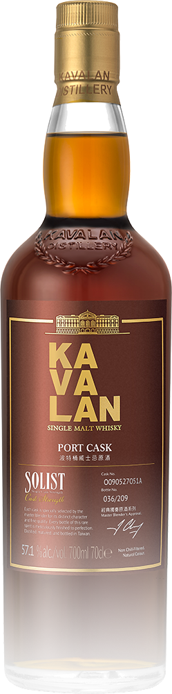 Kavalan Solist Port Single Cask Strength